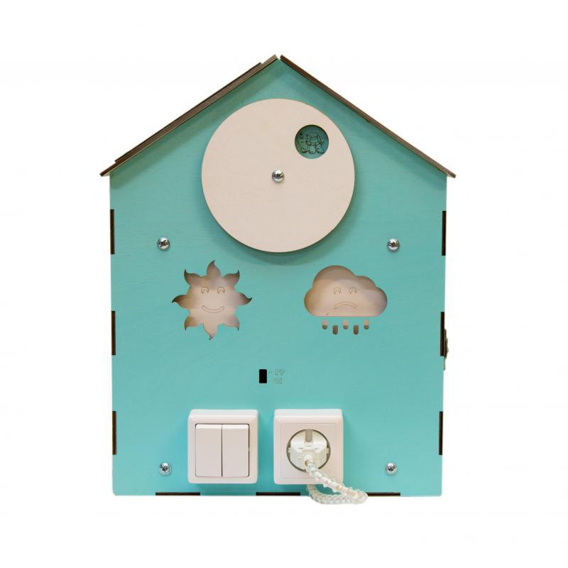 Бизи-Дом 2bee со светом мятный фото