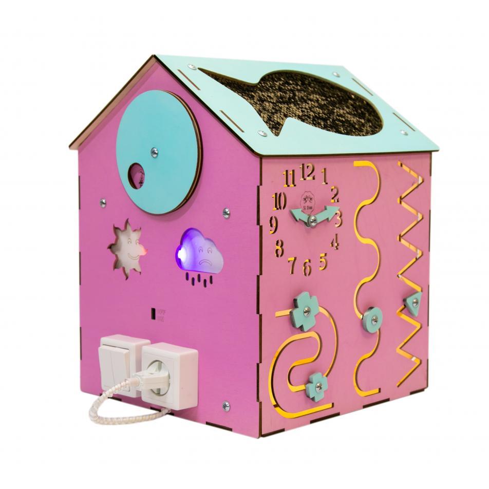 Бизи-Дом 2bee со светом розовый