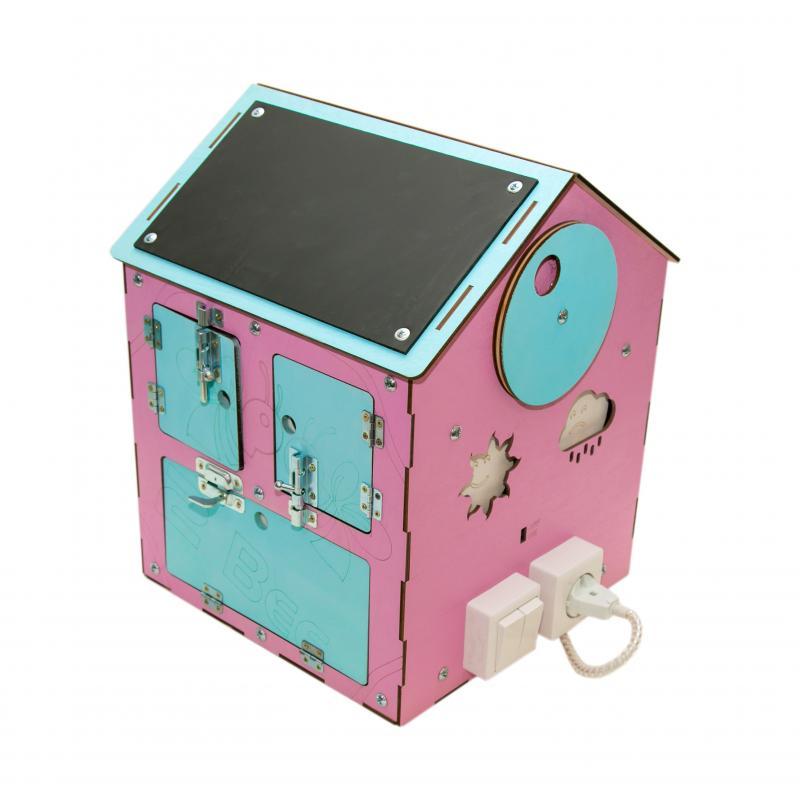 Бизи-Дом 2bee со светом розовый фото