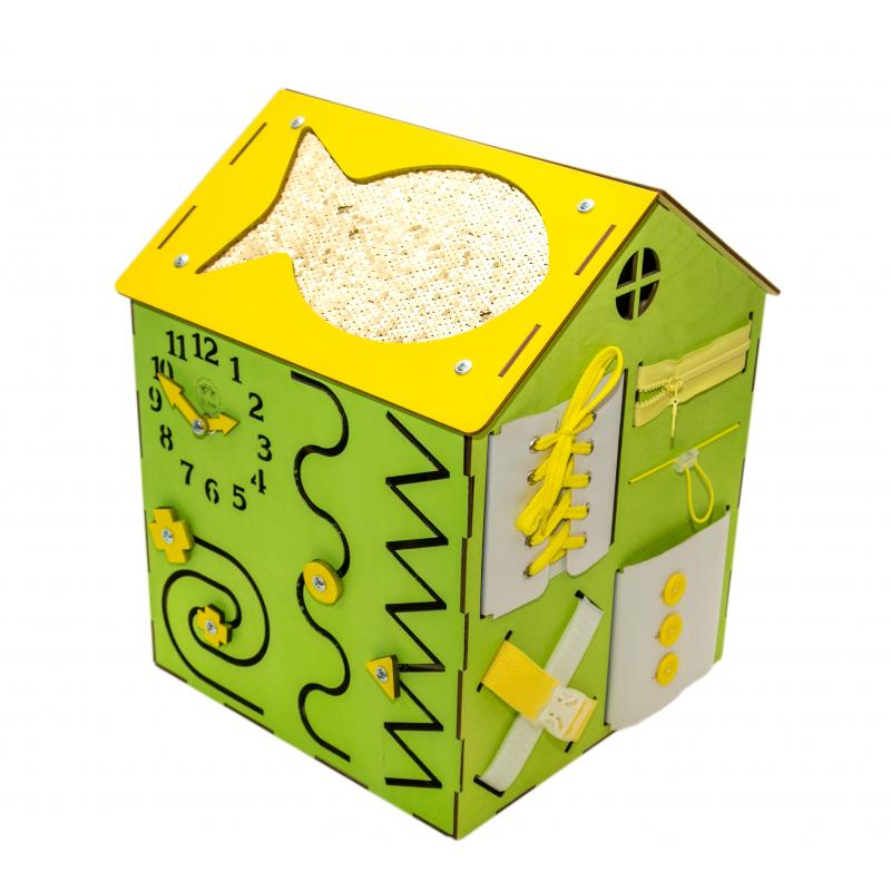 Бизи-Дом 2bee со светом зеленый фото