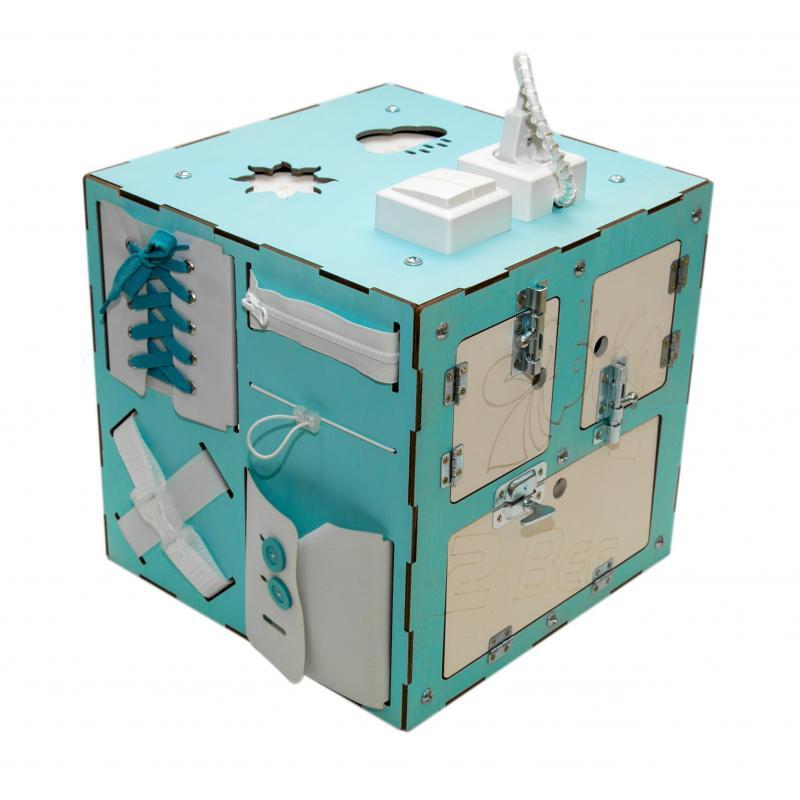 Бизи-Куб 2bee со светом мятный фото