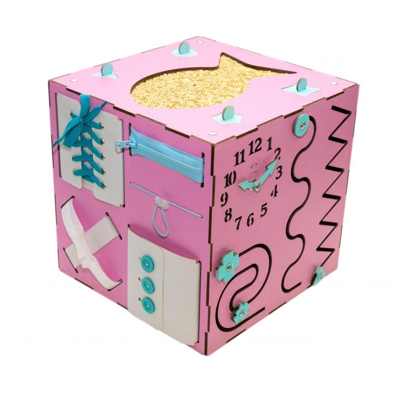 Бизи-Куб 2bee розовый фото