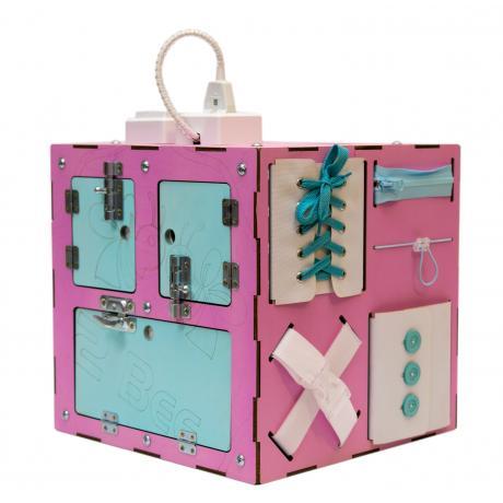 Бизи-Куб 2bee со светом розовый
