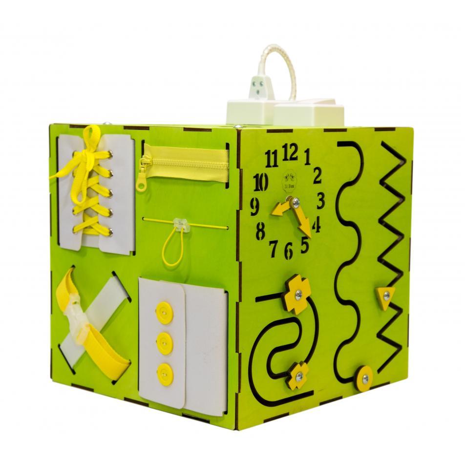 Бизи-Куб 2bee со светом зеленый