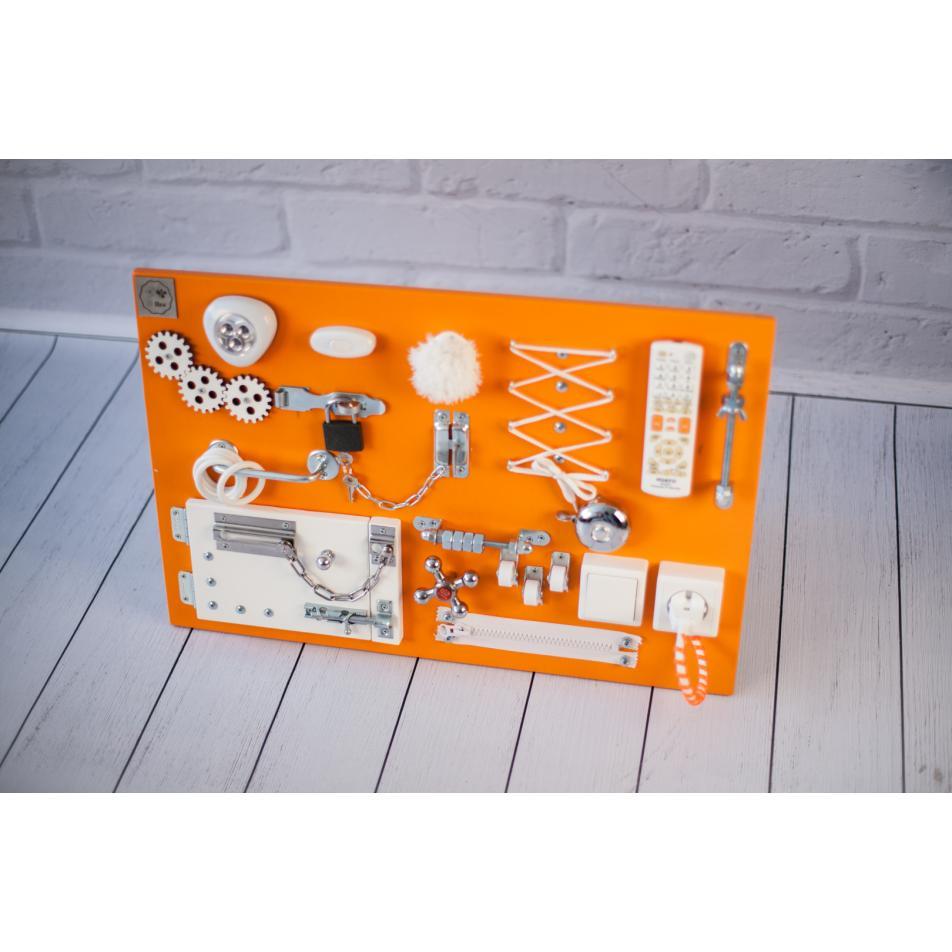 Бизиборд 2bee Оранжево-белый 60х40