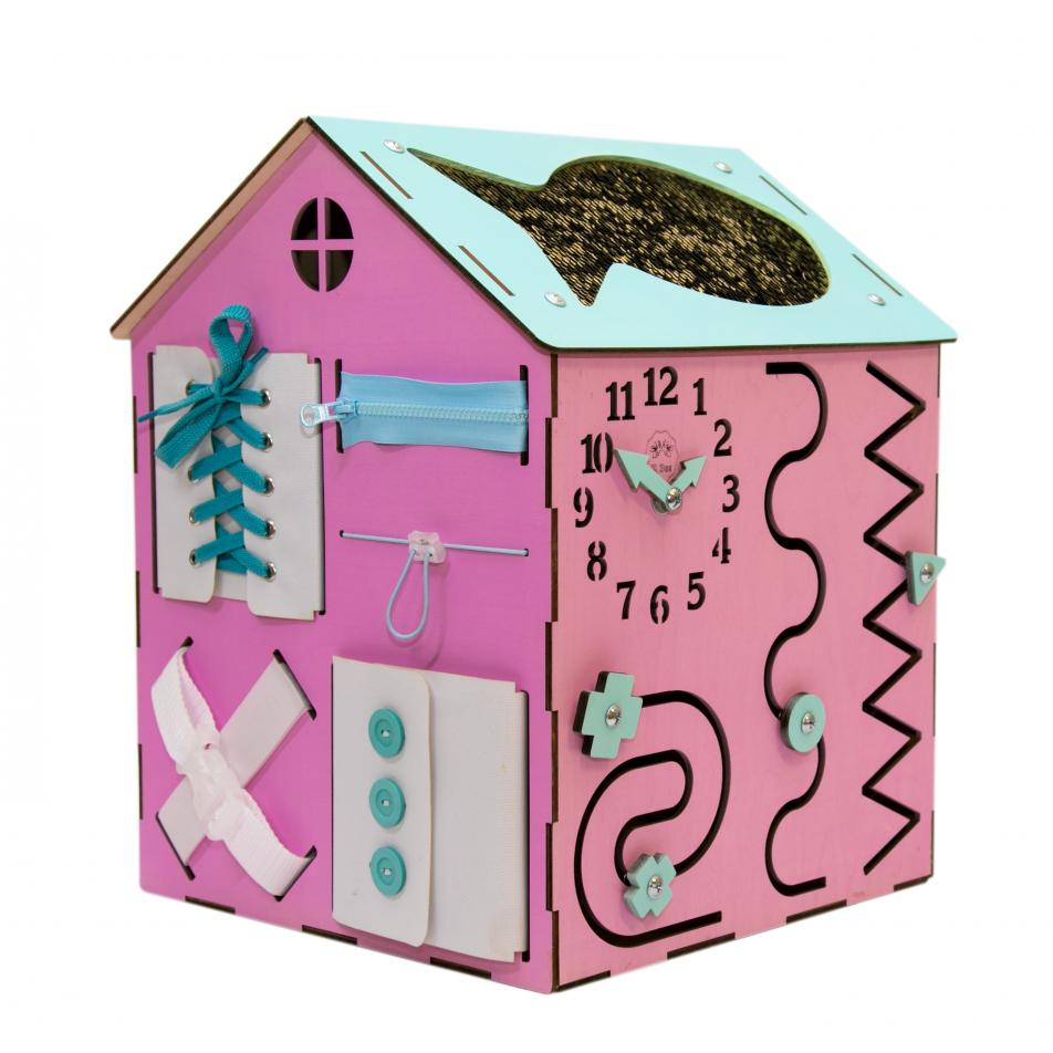Бизи-Дом 2bee розовый
