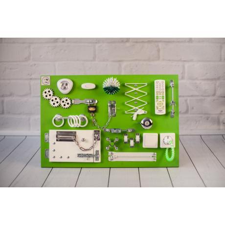 Бизиборд 2bee Зелено-белый 60х40