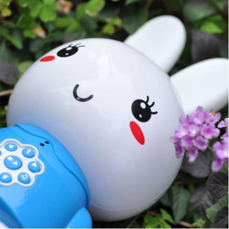 Медиаплеер Медовый зайка alilo G6. Цвет: голубой