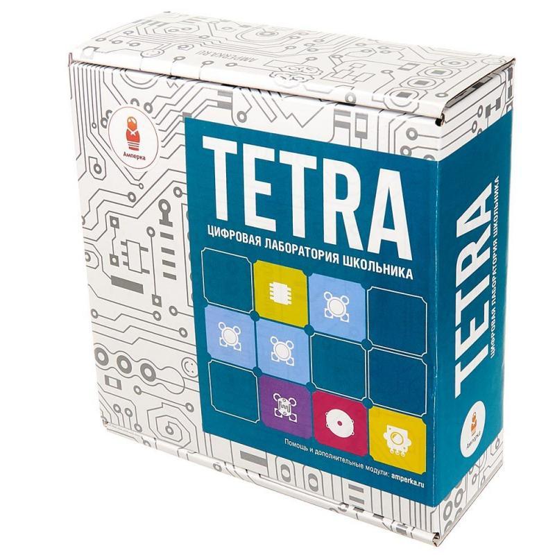 Электронный конструктор Амперка Tetra фото