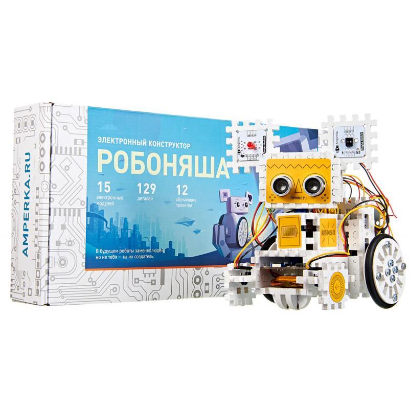 Электронный конструктор Амперка Робоняша фото