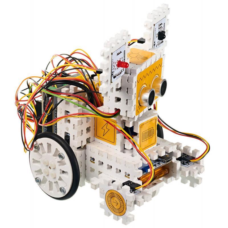 Электронный конструктор Амперка Робоняша — продолжение набора «Йодо» фото