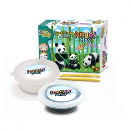 Набор мягкого пластилина Angel Clay Пандочка (Panda Bear Making)