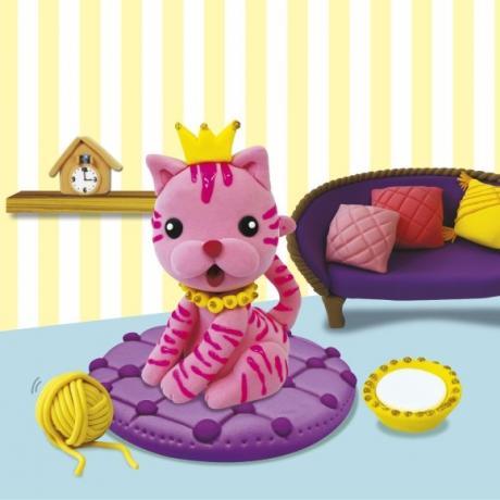 Набор мягкого пластилина Angel Clay Кошечка (Lovely My Cat)