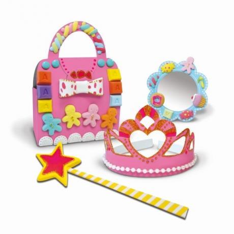 Набор мягкого пластилина Angel Clay Аксессуары Принцессы (Princess Accessories)