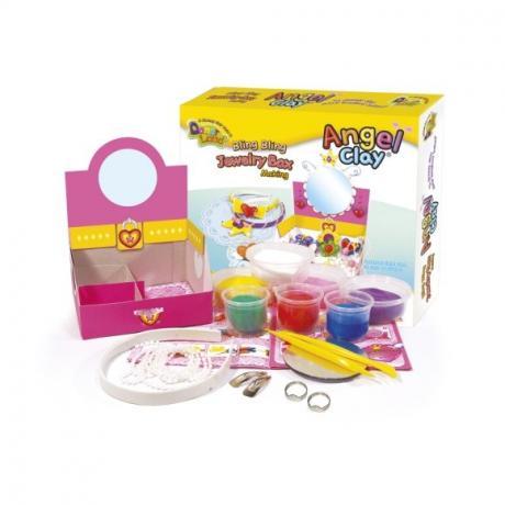 Набор мягкого пластилина Angel Clay Шкатулка с бижутерией (Jewerly Box)