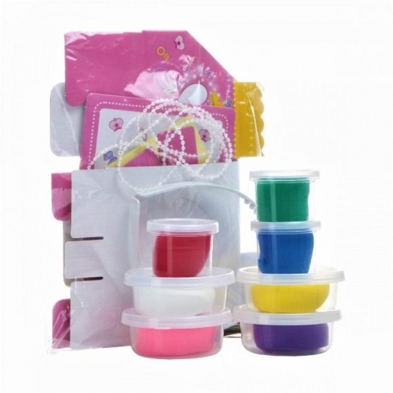 Набор мягкого пластилина Angel Clay Шкатулка с бижутерией (Jewerly Box) фото