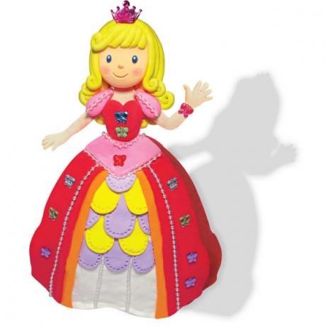 Набор мягкого пластилина Angel Clay Золушка (Princess Play)