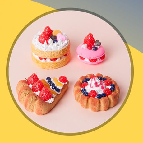 Набор для творчества Angel Sweets Клубничное пирожное (Mini Strawberry cake)