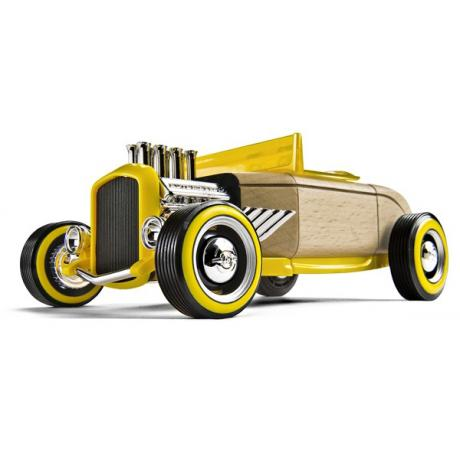 Автомобиль-конструктор Automoblox Mini Hot Rod HR2