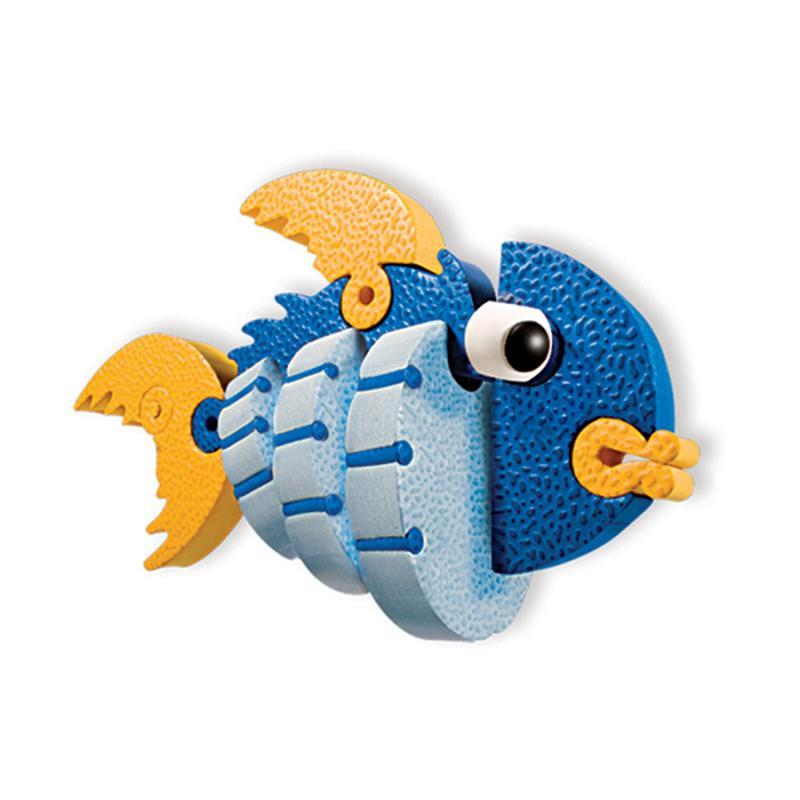Мягкий конструктор BLOCO Морские животные фото