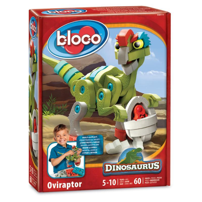 Мягкий конструктор BLOCO Овираптор фото