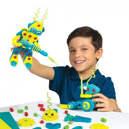 Мягкий конструктор BLOCO Вторжение Роботов