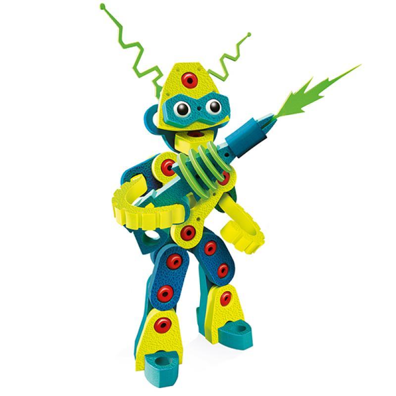 Мягкий конструктор BLOCO Вторжение Роботов фото