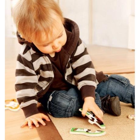 Развивающий пазл для детей Beleduc - Веселые друзья