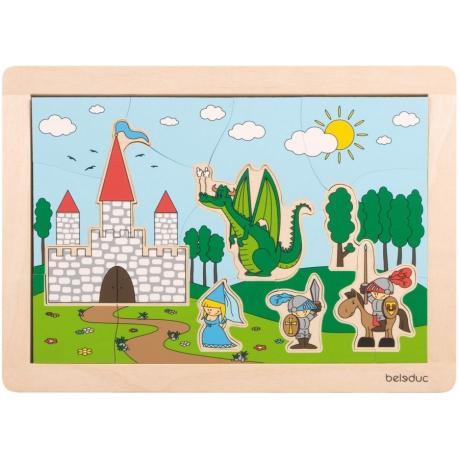 Развивающий пазл для детей Beleduc - Замок