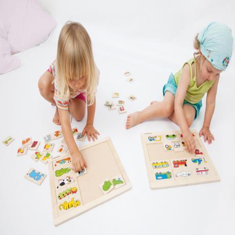 Развивающий пазл для детей Beleduc - Животные 11006