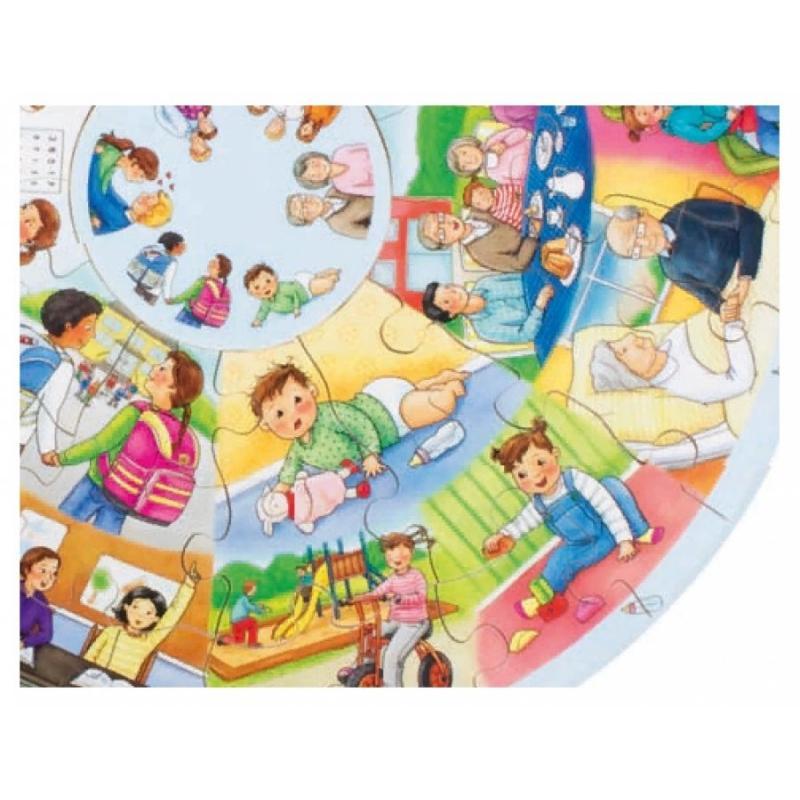 Развивающий пазл для детей Beleduc - Моя жизнь XXL  фото
