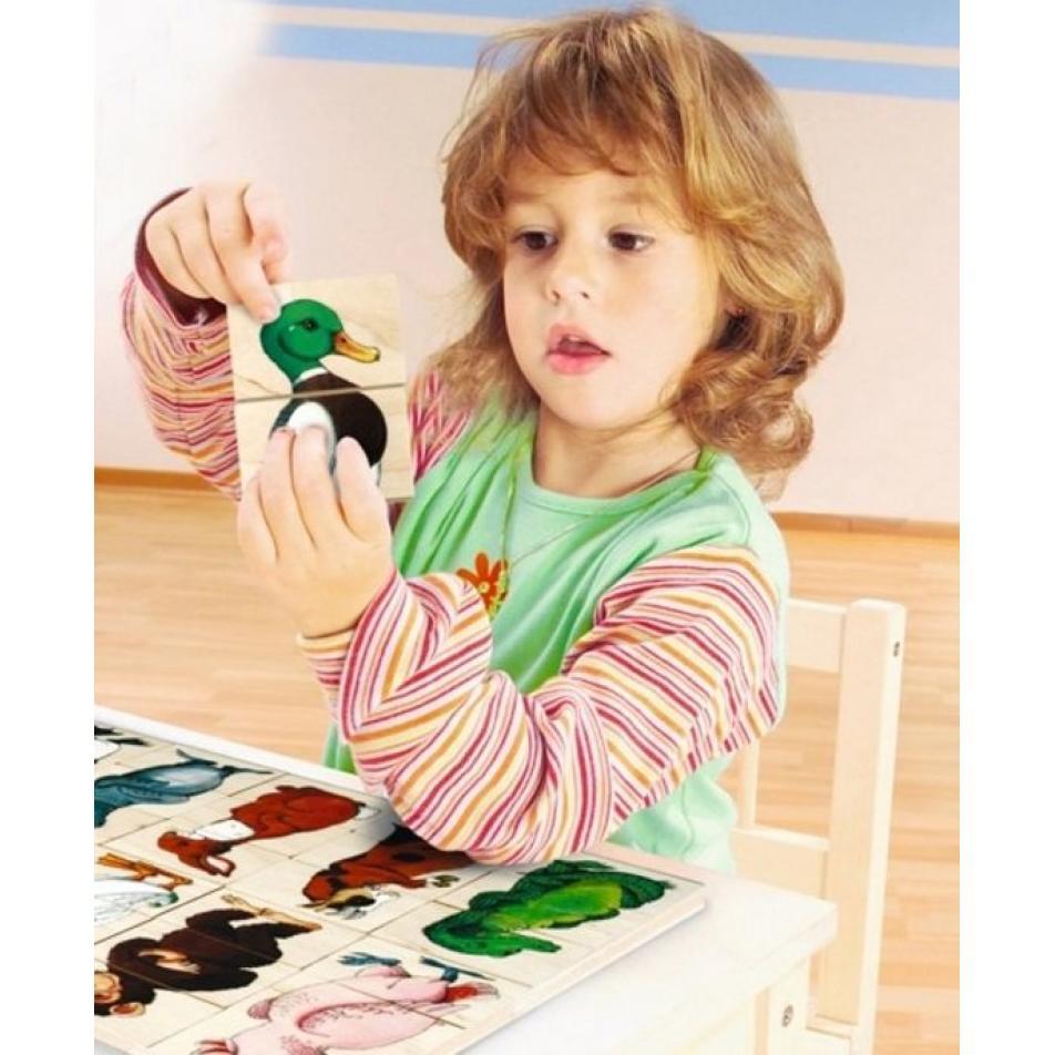 Развивающий пазл для детей Beleduc - Пин-Гу-Дил