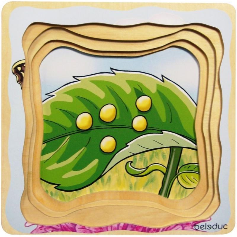Развивающий пазл для детей Beleduc - Мотылек фото