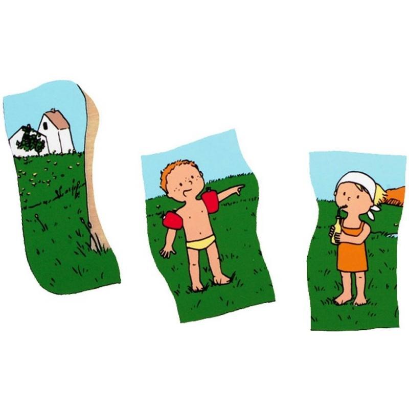 Развивающий пазл для детей Beleduc - Четыре сезона фото