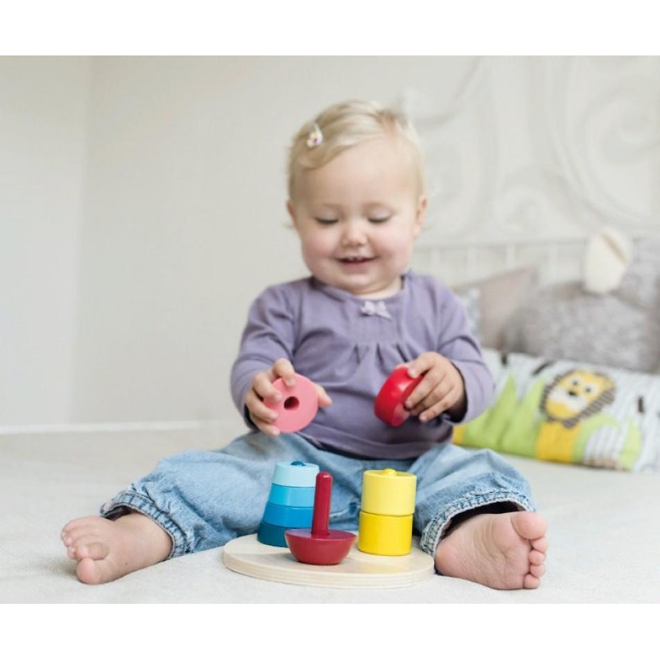 Развивающая игрушка Beleduc - Три пирамидки
