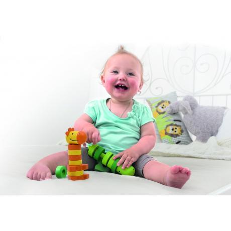Развивающая игрушка Beleduc - Пирамидки-Друзья