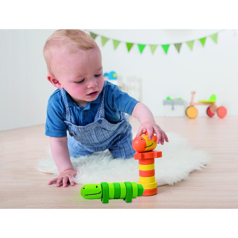 Развивающая игрушка Beleduc - Пирамидки-Друзья фото