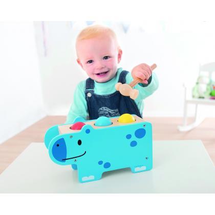 Развивающая игрушка Beleduc - Веселый бегемотик