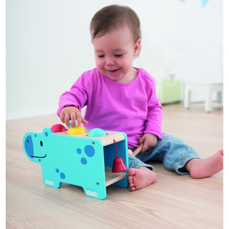 Развивающая игрушка Beleduc - Веселый бегемотик фото