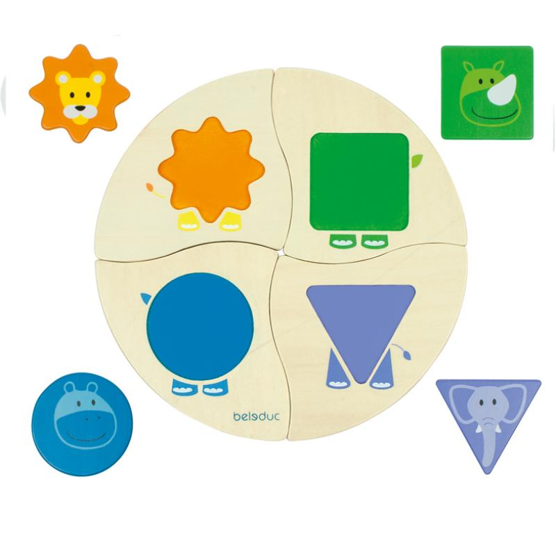 Развивающая игрушка Beleduc - Забавная четверка фото