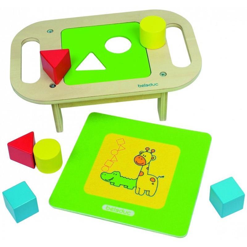 Развивающая игрушка Beleduc - Столик-Сортер фото