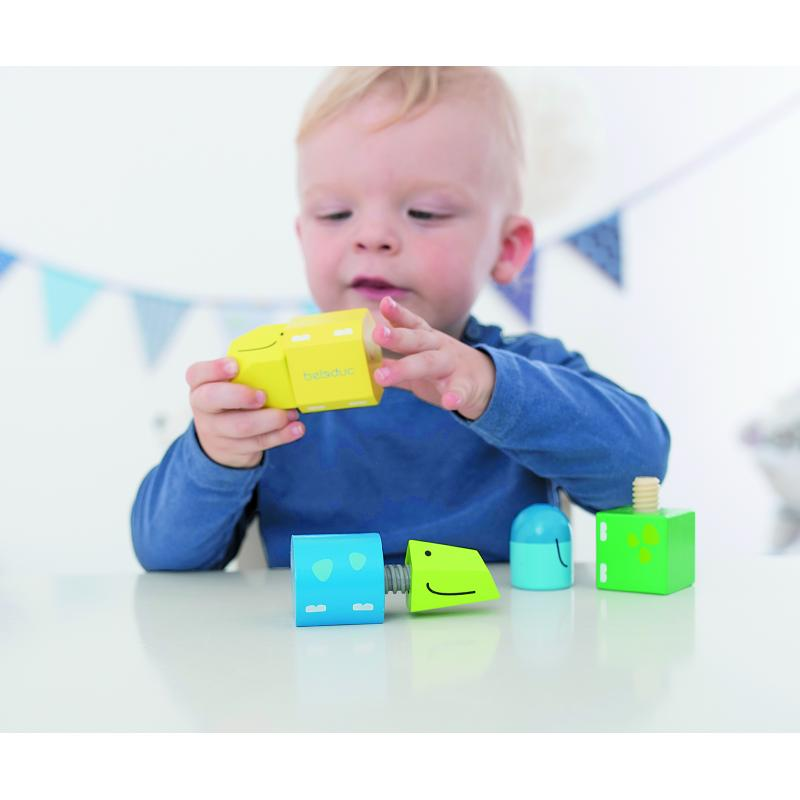 Развивающая игрушка Beleduc - Винтики-Друзья фото