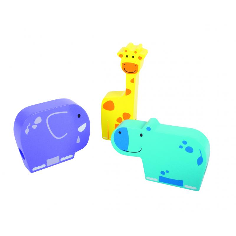 Развивающая игра Beleduc - шнуровка Животные фото