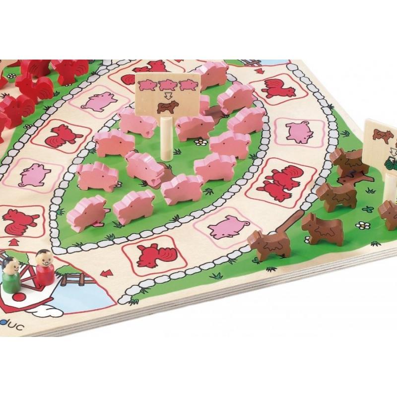 Развивающая игра Beleduc - Веселая ферма фото