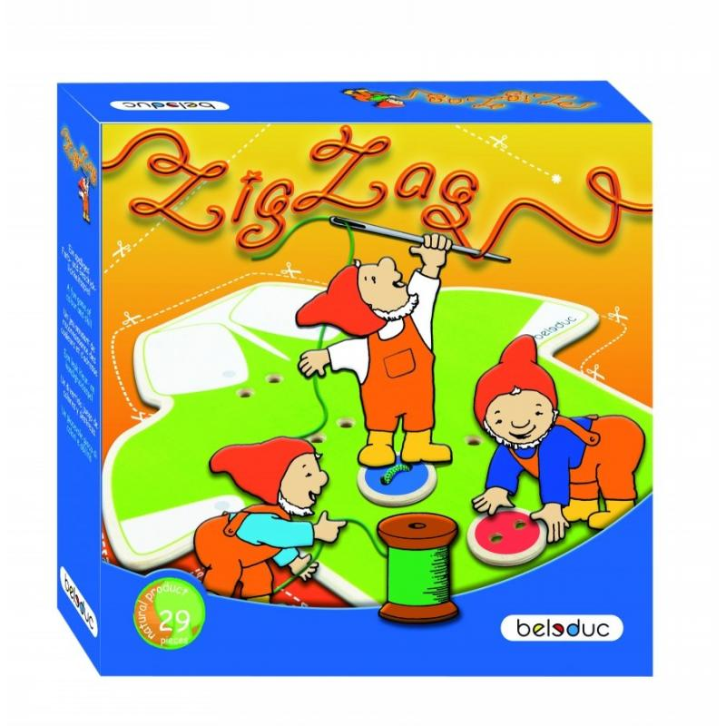 Развивающая игра Beleduc - Зиг Заг фото