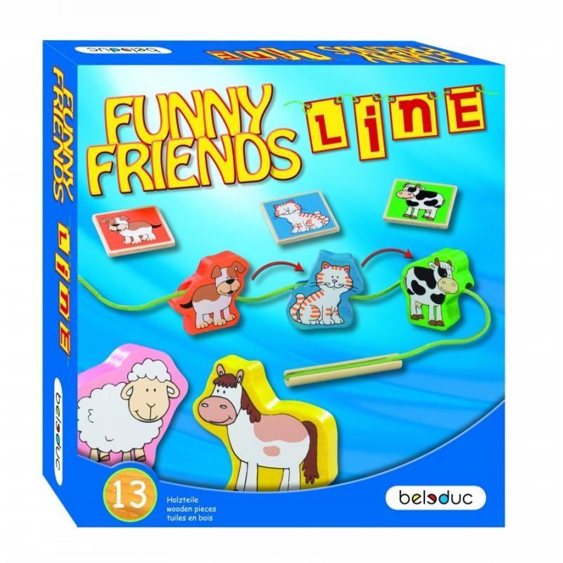 Развивающая игра Beleduc - Веселые друзья фото