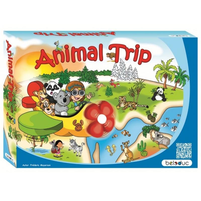 Развивающая игра Beleduc - Путешествие животных фото