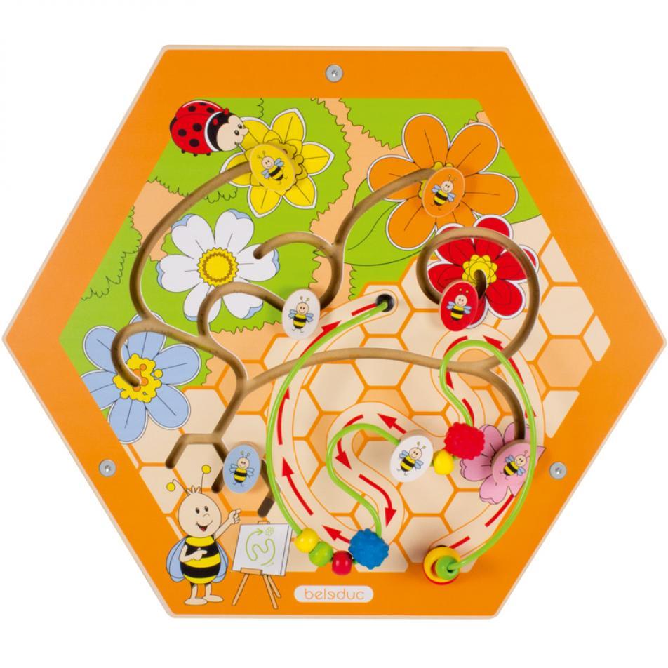 """Настенный игровой элемент """"Пчелы. Соты"""""""