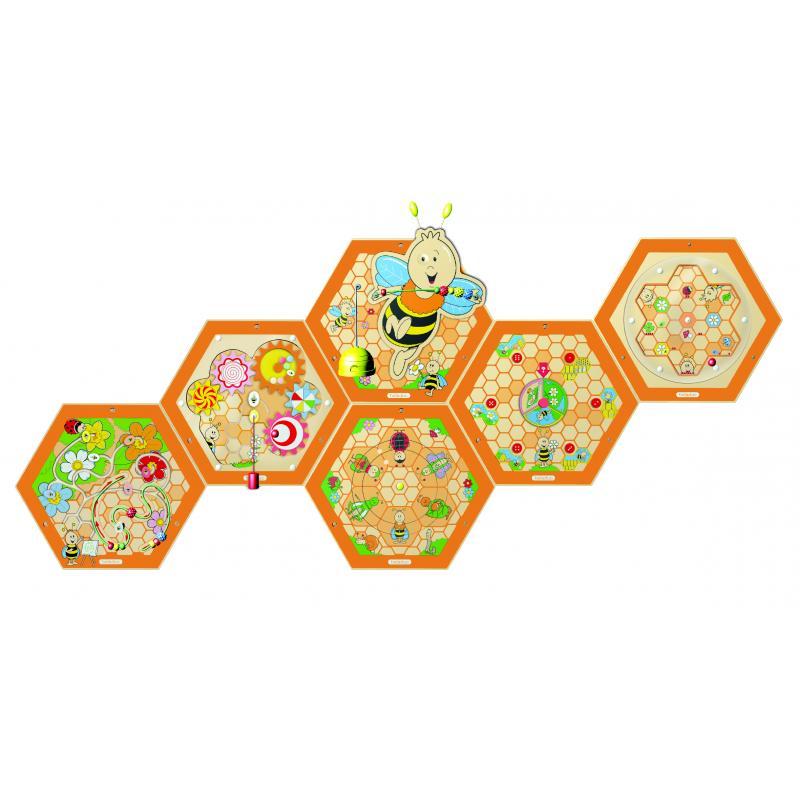 """Настенный игровой элемент """"Пчелы. Механизмы"""" фото"""
