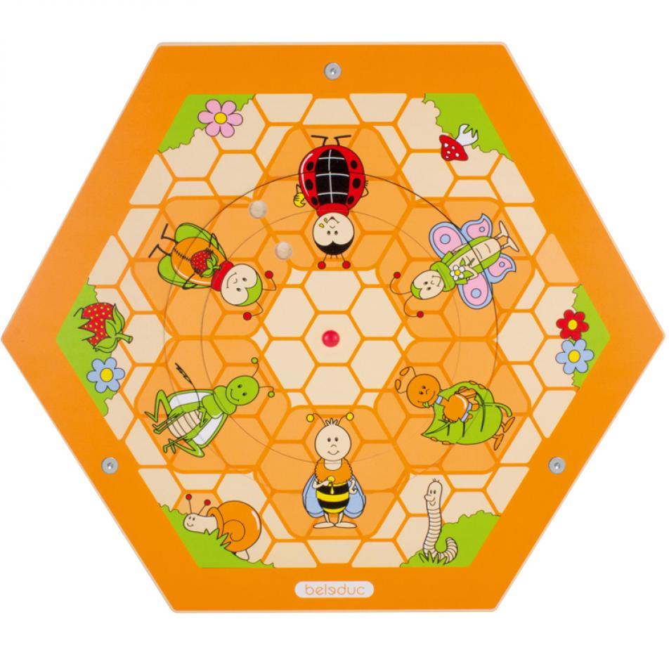 """Настенный игровой элемент """"Пчелы. На поляне"""""""
